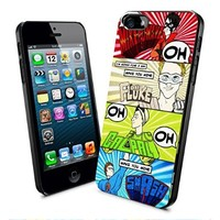 5sos Don't Stop 5 Seconds of Summer Poster Iphone and Samsung Galaxy Case (iPhone 5/5s Black)