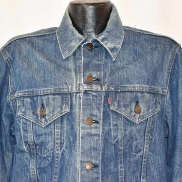 80s Levis Type 3 Trucker Denim Jacket Large
