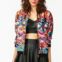 Doll Face Bomber Jacket