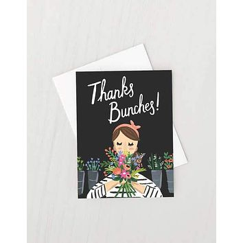 IDLEWILD THANKS BUNCHES CARD