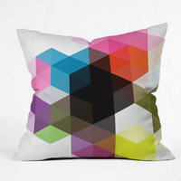 Three Of The Possessed Modele 9 Outdoor Throw Pillow