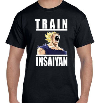 Dragon Ball Z Train Insaiyan Vegeta T Shirt