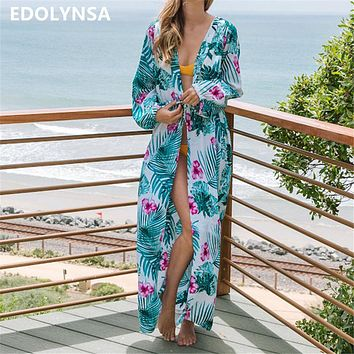 Beach Cover up Kaftans Sarong Bathing Suit Cover ups Beach Pareos Swimsuit Cover up Womens Swim Wear Beach Tunic #Q613