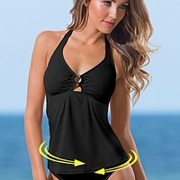 Black Beauty (BKK) Ring Tankini Top