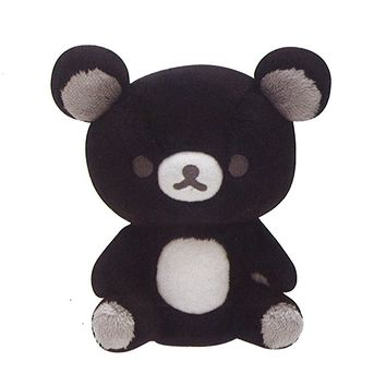 Rilakkuma stuffed monochrome Rilakkuma black MR64501 by San-X