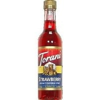 Torani Flavoring Strawberry Syrup (6x12.7oz)