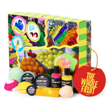 The Whole Fruit Wrapped Gift
