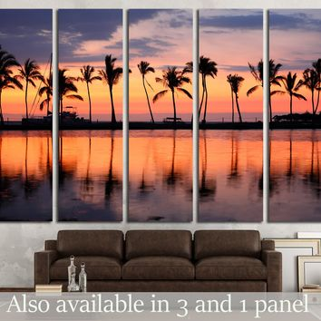 vacation getaway colorful concept photo from sea ocean water at Big Island, Hawaii, USA №2694