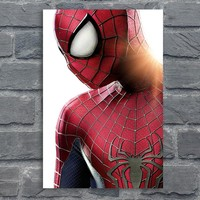 The Amazing Spider-Man Poster Cool Hero Prints Kids Boy Room Wall Decor Spiderman Canvas Art Picture