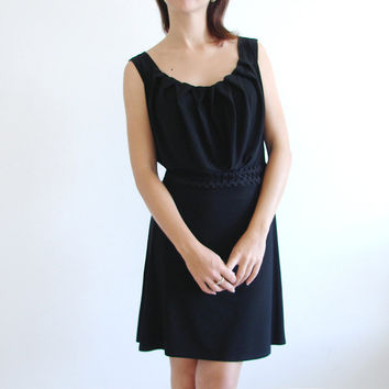 Super cute party dress with pleated neckline by LuciaVerona