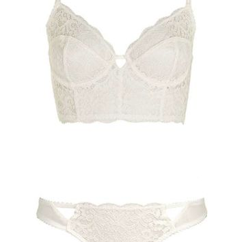 Lovejoy Bralet and Thong - Lingerie - Clothing