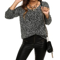Sale-charcoal Cuddle Up Sweater Tunic