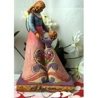 Jim Shore I Love You Mother Daughter Figurine