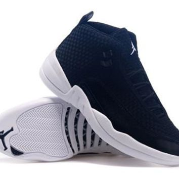 Cheap Air Jordan Future 12 Deep Blue White Shoes