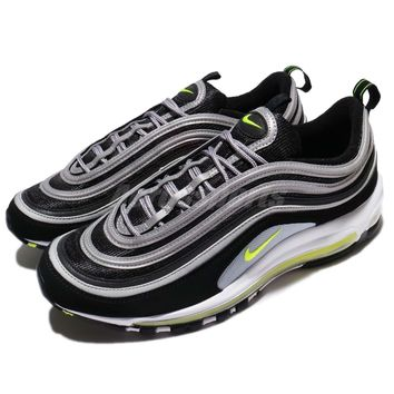 "Nike Air Max 97 OG ""Japan"" Black Neon Volt Men Running Shoes Sneakers 921826-004"