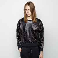 Coated Crackle Sweatshirt by 3.1 Phillip Lim