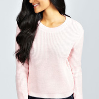 Ayla Crop Fisherman Jumper