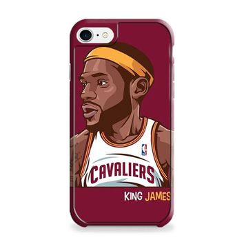 Lebron James Cleveland Cavaliers Basketball iPhone 6 | iPhone 6S Case
