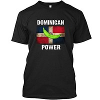 Dominican Power Plantain Platano Flag T-Shirt