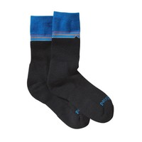 Patagonia Lightweight Merino Crew Socks | Classic Fitz Roy: Andes Blue