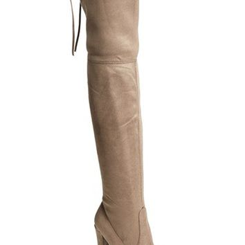 Steve Madden 'Gorgeous' Over the Knee Boot (Women) | Nordstrom