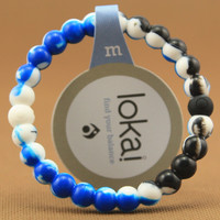New Unique blue and black Color Lokai Bracelet for a balanced life