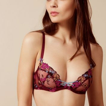 Bluebelle Bra Burgundy