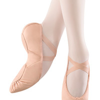 Bloch Women's Pink Leather Split Sole Prolite II Hybrid Ballet Shoe