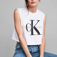 Calvin Klein Cropped Muscle Tee