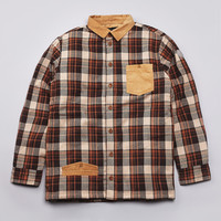Flatspot - I Love Ugly Boston Overshirt Rusty Check