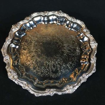 English Silver Mfg. Corporation Silverplated Serving Tray
