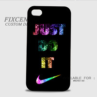 Tick Just Do It 3D Image Cases for iPhone 4/4S, iPhone 5/5S, iPhone 5C, iPhone 6, iPhone 6 Plus, iPod 4, iPod 5, Samsung Galaxy (S3, S4, S5, S6) by FixCenters