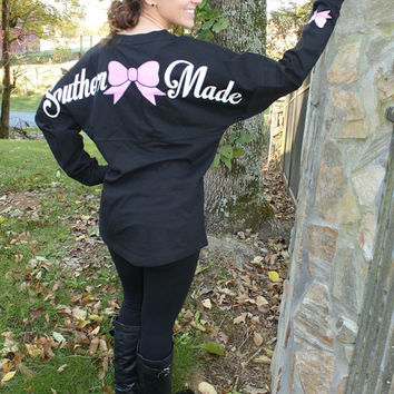 ON SALE NOW Pom Pom Jersey, Special Edition Southern Made ~ Glitter Bow