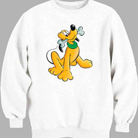 Pluto Disney Sweater for Mens Sweater and Womens Sweater *