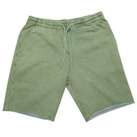 Crooks & Castle Maze Shorts In Rifle Green