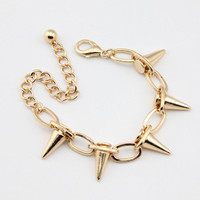 Instafashion — Gorgeous Gold Spike Chain Bracelet