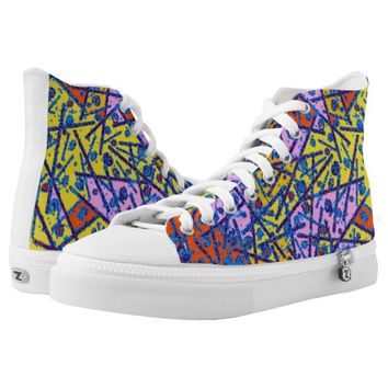chaotic High-Top sneakers