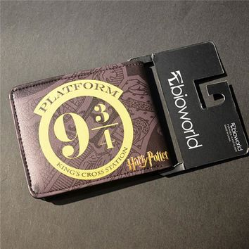 magic wallets the harry potter marca pu wallet sherlock cion purse agents of shield wallet holder