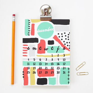 2016 Monthly Calendar Desk Accessories Office Supplies Teacher Christmas Gifts Magnetic Wall Calendar 2016 Monthly Planner Modern Design