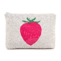Santi Strawberry Clutch