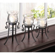 Lovely Allure Candle Stand Trio