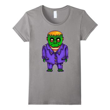 Frankenstein Cartoon Character T-shirt (Novelty and More)