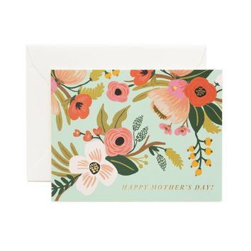 Pastel Mother's Day Greeting Card by RIFLE PAPER Co.   Made in USA