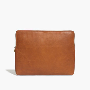 The Leather Laptop Case : | Madewell