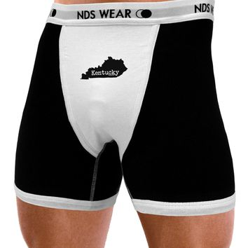 Kentucky - United States Shape Mens NDS Wear Boxer Brief Underwear by TooLoud