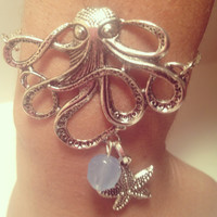 Mermaid Octopus Bracelet by byElizabethSwan on Etsy