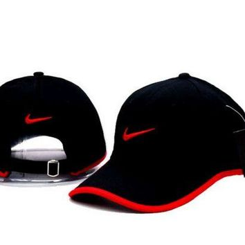 DCCKFM6 Cool NIKE GOLF NEW Adjustable Fit DRI FIT SWOOSH FRONT BASEBALL CAP HAT