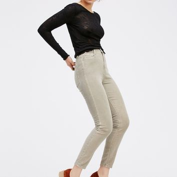 Free People Cyndi High Rise Cords