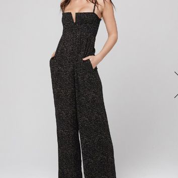 Eleven Speckled Jumpsuit