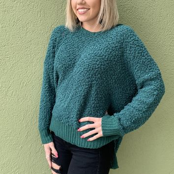 One Dance Sweater- Green